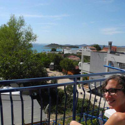 Apartment in Kroatien Meerblick